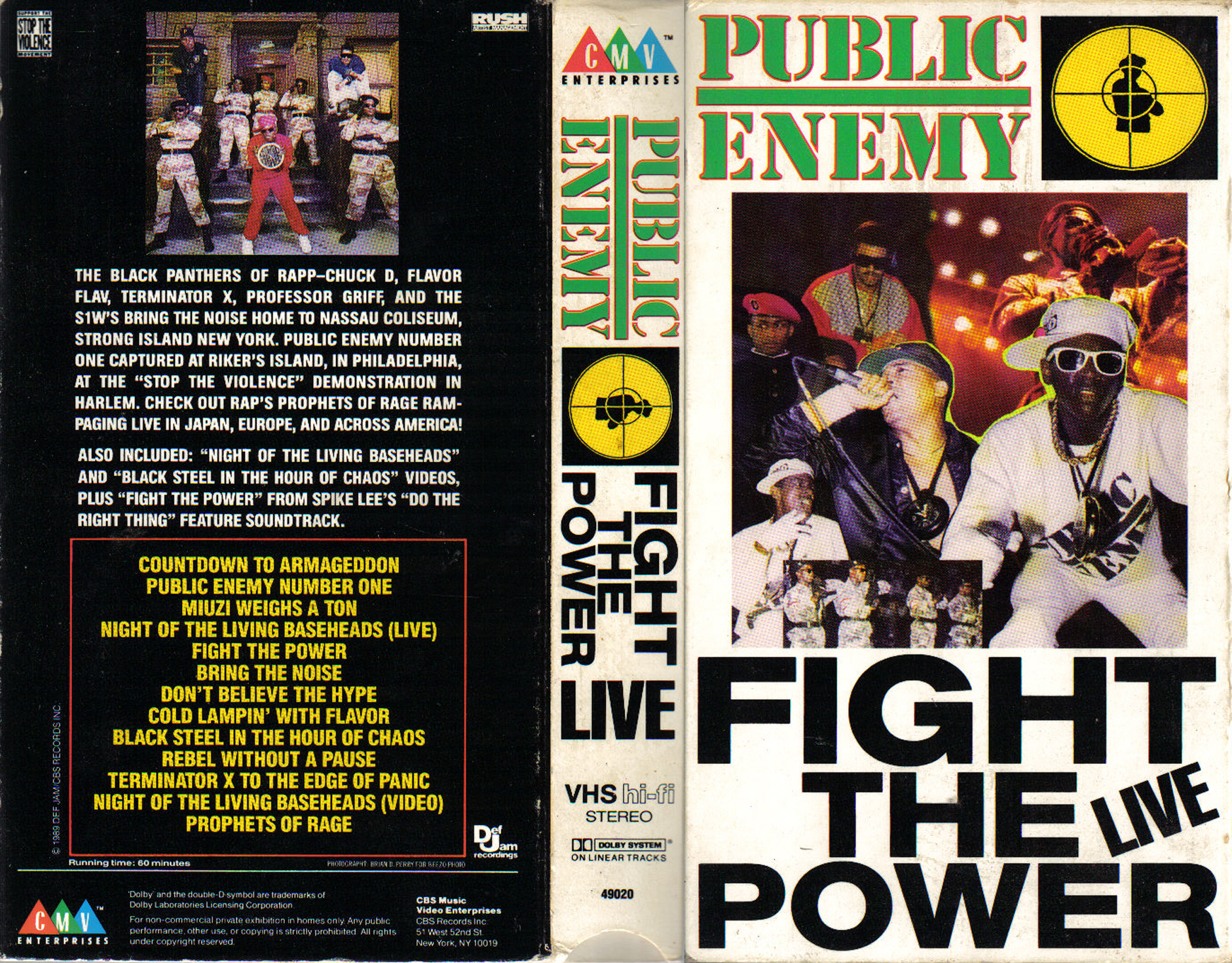 an analysis of public enemys song fight the power The induction ceremony for the rock and roll hall of fame took place thursday, april 18, in los angeles some of this year's inductees included heart, randy newman, rush and public enemy.