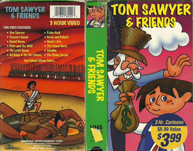 the friendship of tom sawyer and